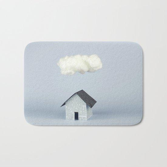 A cloud over the house Bath Mat