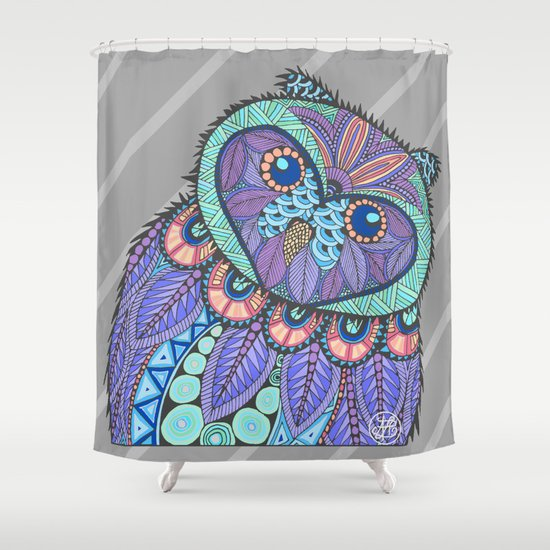 Spring Owl Shower Curtain By Artlovepassion Society6