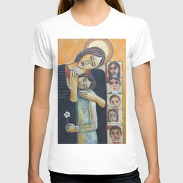 Holy Family #2 By Nabil Anani T-shirt