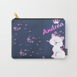 Name Andrea Carry-All Pouch