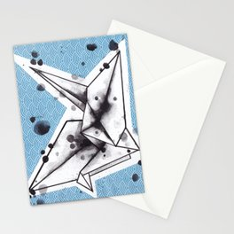 Origami Crane Stationery Cards