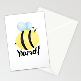 Bee Yourself Stationery Cards