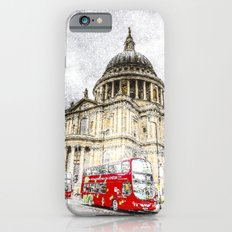 St Paul's Cathedral London Snow Slim Case iPhone 6s