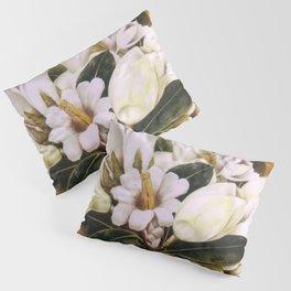 Magnolias Still Life by Frida Kahlo Pillow Sham
