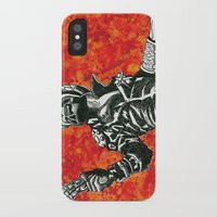 mad max iPhone & iPod Cases featuring Mad Max  by Abominable Ink by Fazooli