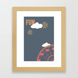 What Are We For: Fun Framed Art Print