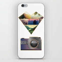 I Love Photography iPhone Skin