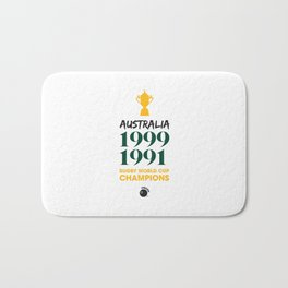 Rugby World Cup Champions — Australia Rugby Union side (Wallabies) Bath Mat