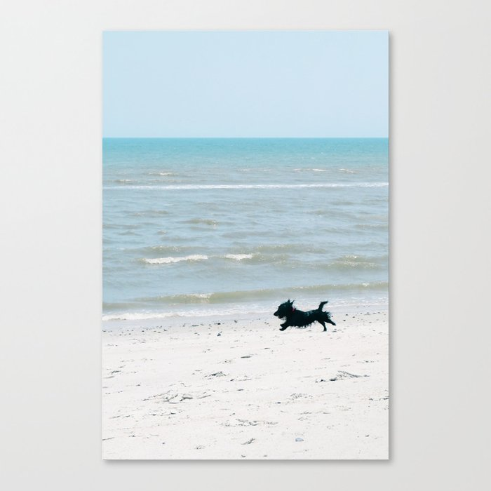 Running Free - Vertical Canvas Print