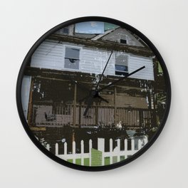 adams family house Wall Clock