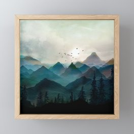Mountain Sunrise II Framed Mini Art Print