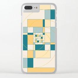Fibonacci Experiment IV Clear iPhone Case