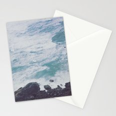 Ocean Coast - Seals in the Blue Sea Water Stationery Cards