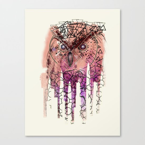 Wowlzers. Canvas Print