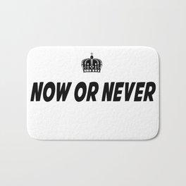Now or Never Bath Mat