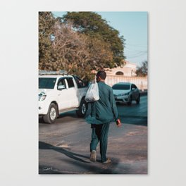 New in town Canvas Print