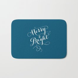 Merry & Bright Bath Mat