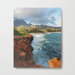 Shipwreck's Beach - Poipu, HI Metal Print