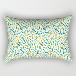 watercolour ferns Rectangular Pillow
