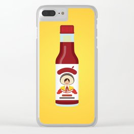 Tapatío Hot Sauce Clear iPhone Case