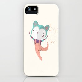Dance Dreams (Cream) iPhone Case