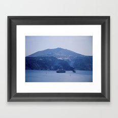 Santorini, Greece 8 Framed Art Print