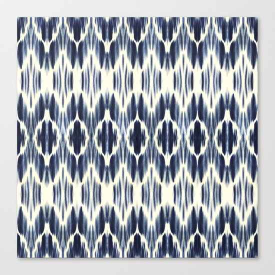 BOHEME INDIGO BLUE Canvas Print