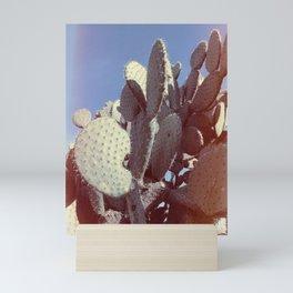 Rainbow Cactus Mini Art Print