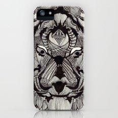Tiger by Mieke Kristine iPhone (5, 5s) Slim Case