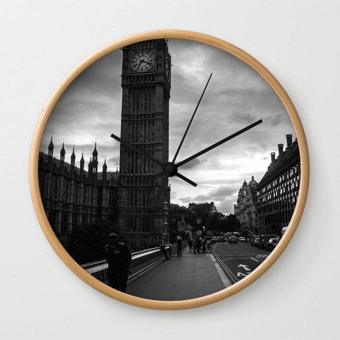 Guarding the Clock Wall Clock
