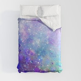 Colorful Deep Space Background Comforters