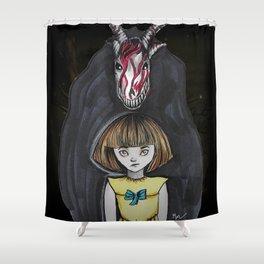 Fran Bow Shower Curtain