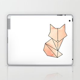 Geometric Fox - Orange Laptop & iPad Skin