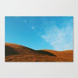 Hills & Sky Canvas Print
