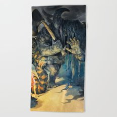 oni Beach Towel