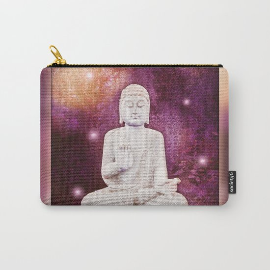 BUDDHA | Red Lights Carry-All Pouch