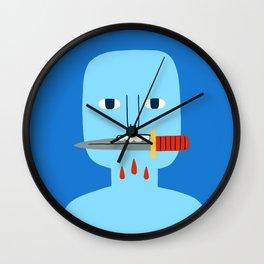 Bite Wall Clock