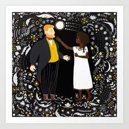 Pierre & Natasha Art Print