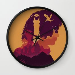 The Many Faces of Cinema: LordoftheRings Wall Clock