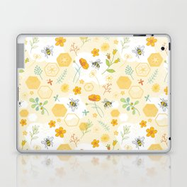 Honey Bees and Buttercups Laptop & iPad Skin