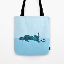 Roaching Greyhound Tote Bag