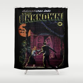 THE UNKNOWN (1948) Shower Curtain
