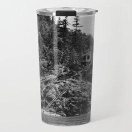 Spaatz-Eaker Mining Claim Cabin, Siskiyou National Forest, California, 1952 Travel Mug