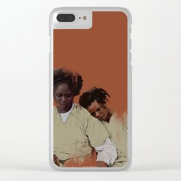 Am I the mom now? Clear iPhone Case