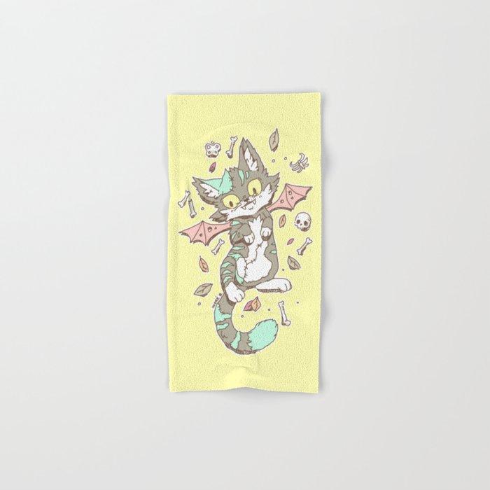Monster Cat Hand & Bath Towel