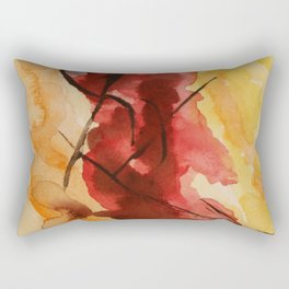 Sunset Abstract Rectangular Pillow