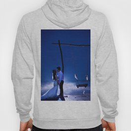 Married Couple Embraces On The Beach (Wedding) Hoody