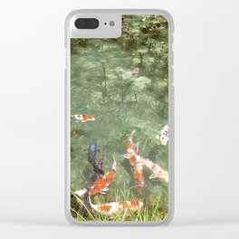 japanese carp Clear iPhone Case