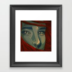 Ice, Fire Framed Art Print