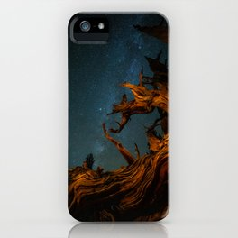 Golden Pine. iPhone Case